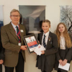 Coombeshead Academy pupil wins national competition for Red, White & Blue Day