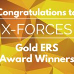 X-Forces receive ERS Gold Award from HRH Prince Harry and the Ministry of Defence