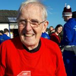 Veteran Reverend Ken Wright celebrates 80th Birthday with a skydive in aid of our Charity
