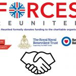 ABF The Soldiers' Charity receive a generous donation from Forces Reunited