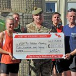Troops in Afghanistan run 5km in aid of our charity