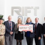 A £200,000 milestone and Silver Award for fundraising heroes RIFT Group