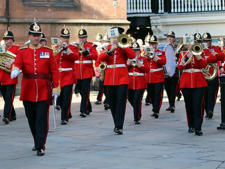 Stoke-on-Trent Military Tattoo - The Soldiers' Charity