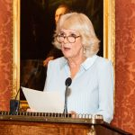 HRH The Duchess of Cornwall hosts 75th Anniversary Royal Reception at Buckingham Palace