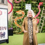 Kim Wilde unveils garden at London's Guildhall to support veterans with chronic pain