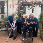 VE Day celebrations for care home veterans