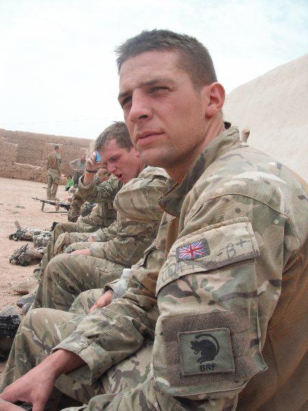 Andy Garthwaite in Afghanistan