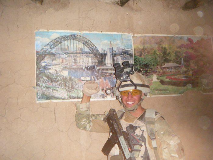 Andy Garthwaite in Iraq