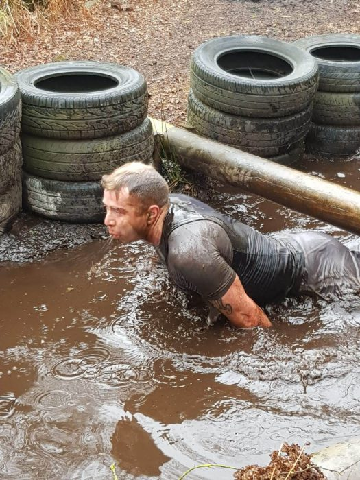 Getting wet at Adrenalin