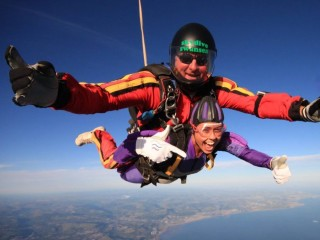 Skydive in Wales