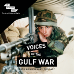 "Kate Adie recalls ""hairs on back of neck"" in new podcast to mark the Gulf War's 30th anniversary"
