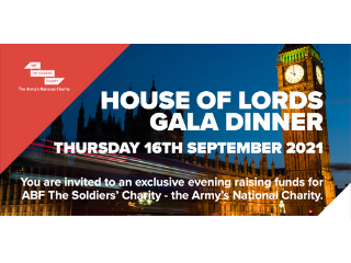 House of Lords - Gala Dinner